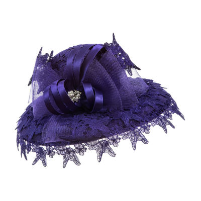 Giovanna Signature Women's Lace Hat with Netting