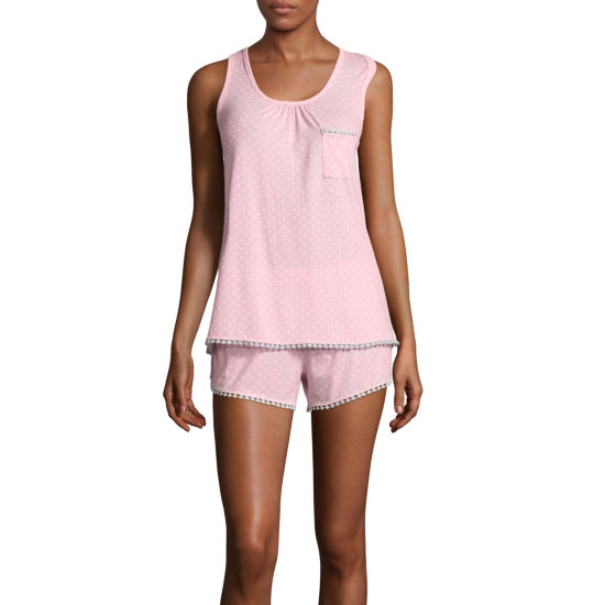 PJ Couture Swingy Chic Short Pajama Set