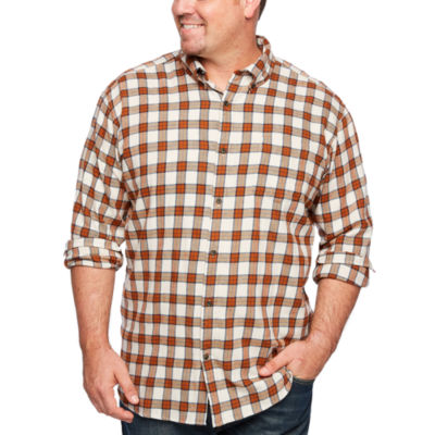 The Foundry Big & Tall Supply Co. Mens Long Sleeve Flannel Shirt Big and Tall