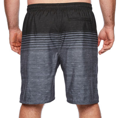 Burnside Stripe Swim Shorts Big and Tall