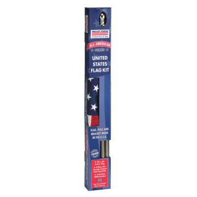 Valley Forge SSTINT-AM6 Nylon All American Flag Pole Set