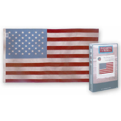 Valley Forge 62039 Elizabeth Ross USA 50 Stars Flag