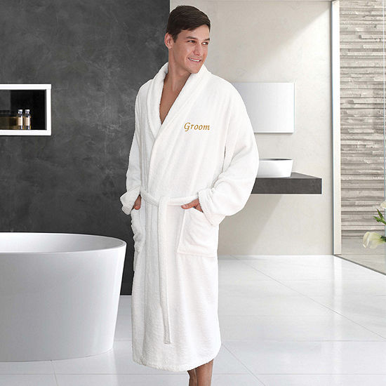 Terry Bathrobe  Embroidery Groom