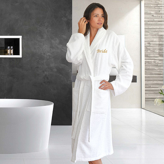 Terry Bathrobe Embroidery Bride