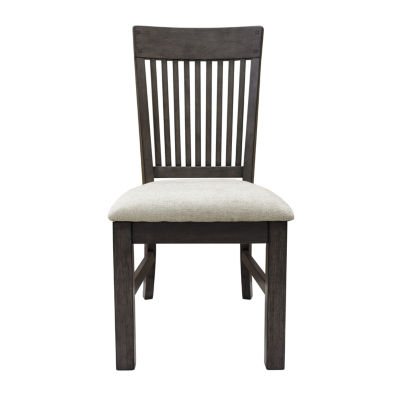 Farmhouse Style Slat Back Side Chair
