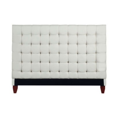 Inspired Home Telford Linen Button Tufted Headboard