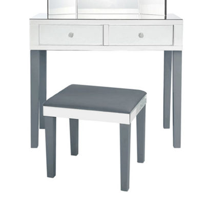 Inspired Home Primrose Modern Contemporary Mirrored Vanity Collection