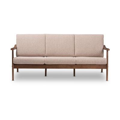 Baxton Studio Venza Fabric Sofa