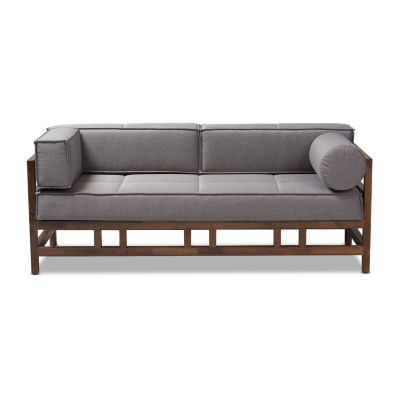 Baxton Studio Shaw Fabric Sofa