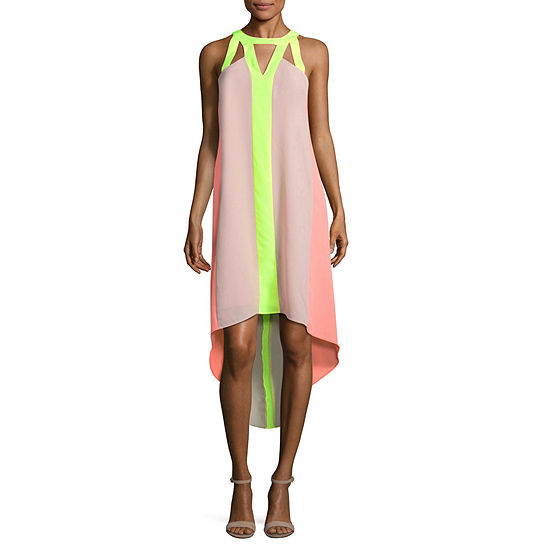Project Runway Colorblock Maxi Dress