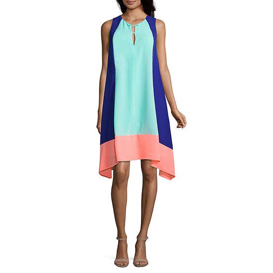 Project Runway Sleeveless Grommet Dress