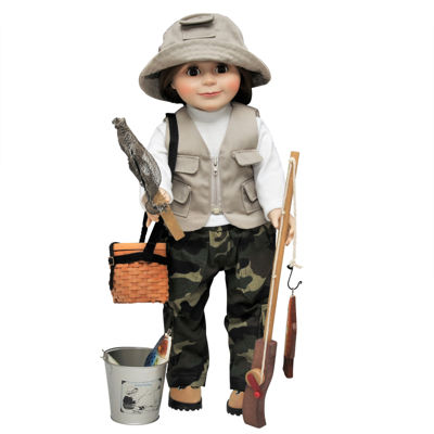 The Queen's Treasures 18 Inch Doll Fishing Accessory & Clothes