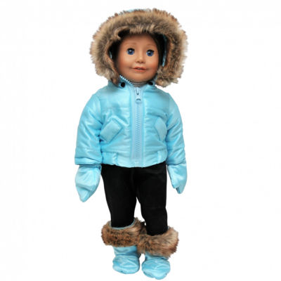 The Queen's Treasures Ski Time Complete 6-pc. 18 Inch Doll Clothes