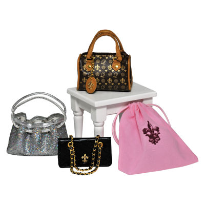 The Queen's Treasures S/3 Designer Handbags for 18 Inch Girl Dolls