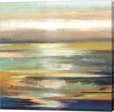 Metaverse Art Evening Tide Canvas Art