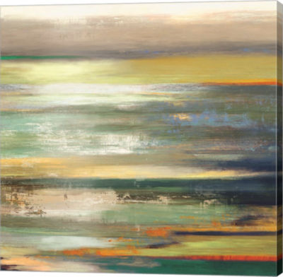 Metaverse Art Evening Tide I Canvas Art