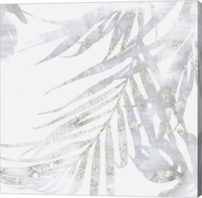 Metaverse Art Faded Leaves II Canvas Art