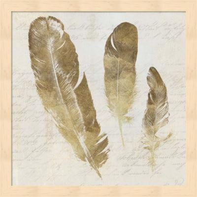 Metaverse Art Feather Softly I Framed Wall Art