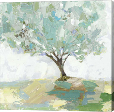 Metaverse Art Pear Tree Canvas Art