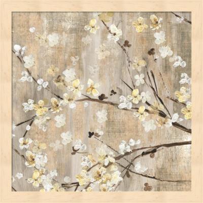 Metaverse Art Pearls in Bloom I Framed Wall Art