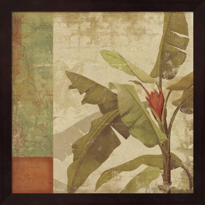 Metaverse Art Planta Framed Wall Art