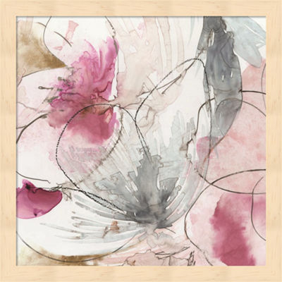 Metaverse Art Pretty in Pink II Framed Wall Art