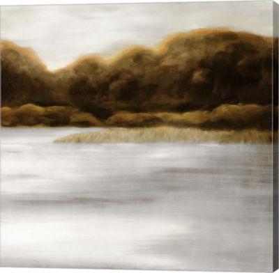 Metaverse Art Red Landscape II Canvas Art