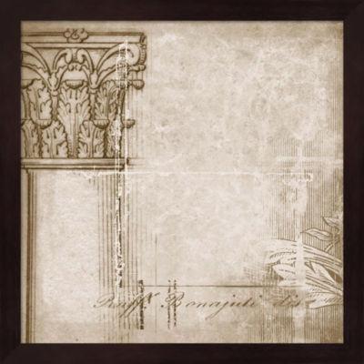 Metaverse Art Romanesque I Framed Wall Art