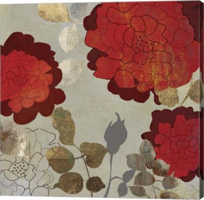 Metaverse Art Rosa I Canvas Art