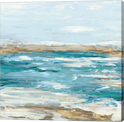 Metaverse Art Sea Side III Canvas Art