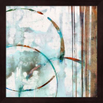 Metaverse Art Seafoam I Framed Wall Art