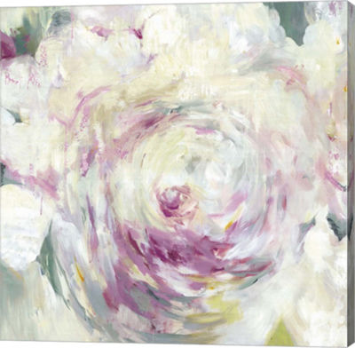 Metaverse Art Shabby Peony I Canvas Art