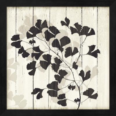 Metaverse Art Shadow on Wood I Framed Wall Art