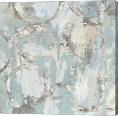 Metaverse Art Silver Chance Canvas Art