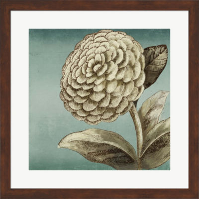 Metaverse Art Slowdance Woodblock II Framed Wall Art