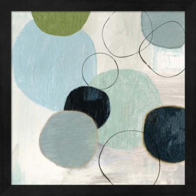 Metaverse Art Soft Circle II Framed Wall Art