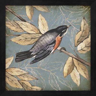 Metaverse Art Songbird Fable I Framed Wall Art
