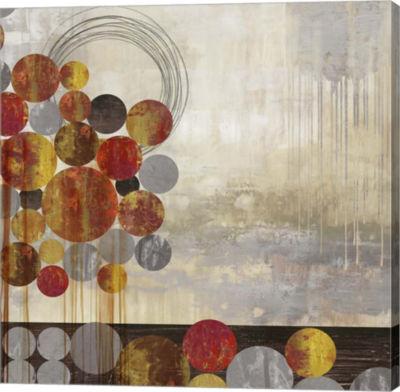 Metaverse Art Sphere Scape Canvas Art