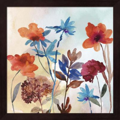 Metaverse Art Spring Mix II Framed Wall Art