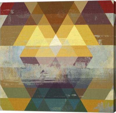 Metaverse Art Geometrics II Canvas Art