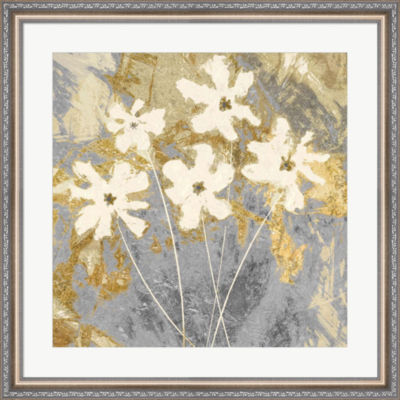 Metaverse Art Golden I Framed Wall Art
