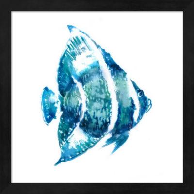 Metaverse Art Fish I Framed Wall Art
