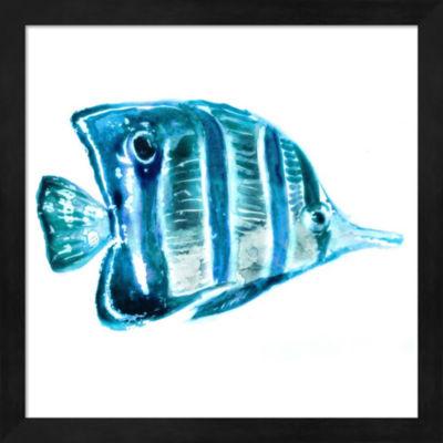 Metaverse Art Fish III Framed Wall Art