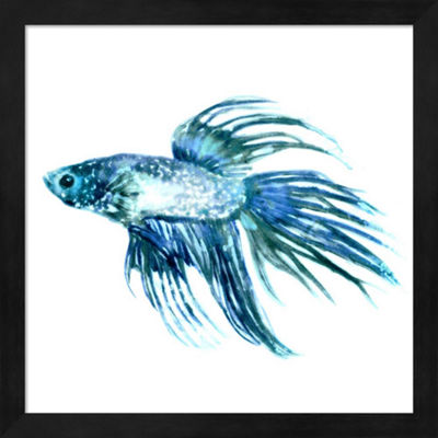 Metaverse Art Fish IV Framed Wall Art