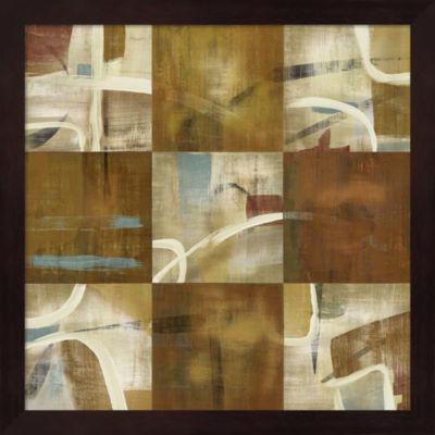 Metaverse Art Abstraction Framed Wall Art