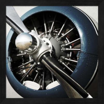 Metaverse Art Aeronautical I Framed Wall Art