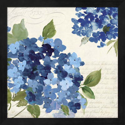 Metaverse Art Hampton Hydrangea I Framed Wall Art