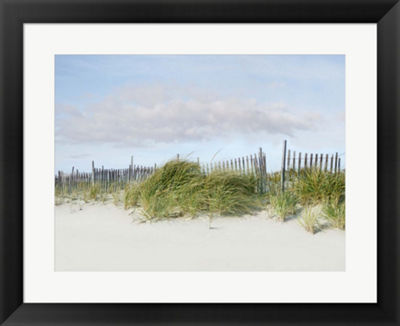 Metaverse Art Beachscape IV Framed Wall Art
