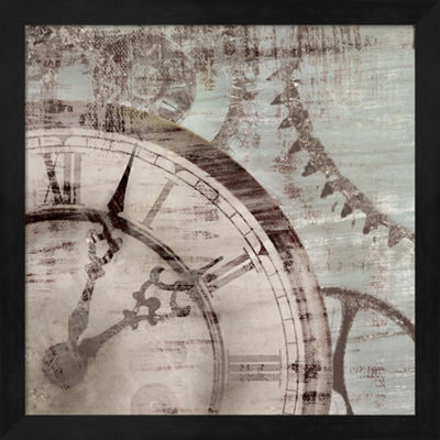 Metaverse Art Tick Tock II Framed Wall Art