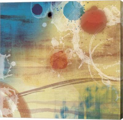 Metaverse Art Tie Dye A Canvas Art